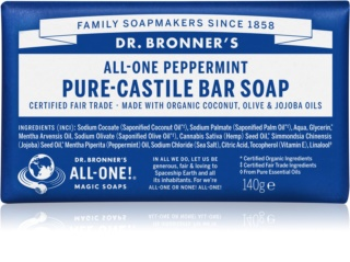Dr. Bronner's Peppermint săpun solid