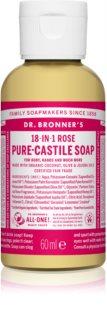 Dr. Bronner's Rose sapone liquido universale