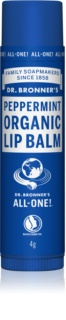 Dr. Bronner's Peppermint balsam do ust