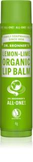 Dr. Bronner's Lemon & Lime bálsamo de lábios