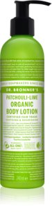 Dr. Bronner's Patchouli & Lime regenerierende Intensiv-Bodymilk
