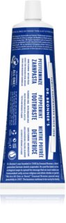 Dr. Bronner's Peppermint Whitening Toothpaste Without Fluoride