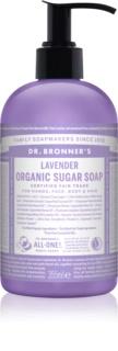 Dr. Bronner's Lavender jabón líquido para cuerpo y cabello