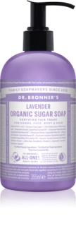 Dr. Bronner's Lavender течен сапун за тяло и коса