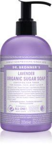 Dr. Bronner's Lavender sabonete líquido para corpo e cabelo