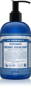 Dr. Bronner's Peppermint mydło w płynie do ciała i włosów