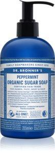 Dr. Bronner's Peppermint savon liquide corps et cheveux