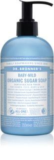 Dr. Bronner's Baby-Mild jabón líquido para cuerpo y cabello