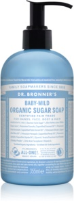Dr. Bronner's Baby-Mild sabonete líquido para corpo e cabelo