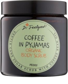 Dr. Feelgood BIO cukrový peeling s olejem z kávových bobů