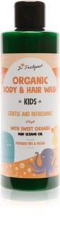 Dr. Feelgood Kids Sweet Orange sanftes Duschgel für Kinder