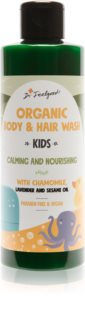 Dr. Feelgood Kids Chamomile & Lavender umirujući gel za tuširanje s kamilicom