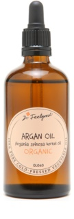 Dr. Feelgood BIO and RAW Cosmetic Argan Oil On Face, Body And Hair