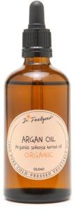 Dr. Feelgood BIO and RAW kosmetický arganový olej na tvář, tělo a vlasy