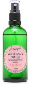 Dr. Feelgood BIO цветна вода с хамамелис за проблена кожа и раздразненна кожа по тялото