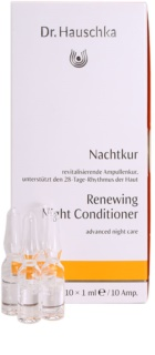 Dr. Hauschka Facial Care Renewing Night Conditioner In Ampoules