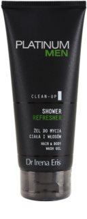 Dr Irena Eris Platinum Men Clean-Up erfrischendes Duschgel Für Körper und Haar