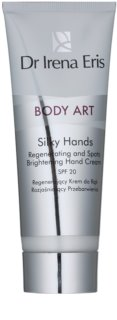 Dr Irena Eris Body Art Silky Hands Regenerating Hand Cream for Pigment Spots Correction
