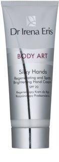 Dr Irena Eris Body Art Silky Hands Regenerating Hand Cream To Treat Pigment Spots
