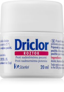 Driclor Solution anti-transpirant roll-on  anti-transpiration excessive
