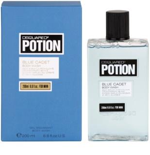 Dsquared2 Potion Blue Cadet gel de dus pentru barbati 200 ml