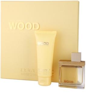 Dsquared2 She Wood Golden Light Wood Geschenkset I.