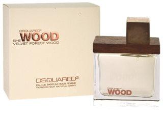 Dsquared2 She Wood Velvet Forest Wood Parfumovaná voda pre ženy   odstrek