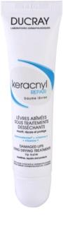 Ducray Keracnyl відновлюючий бальзам для губ при лікуванні акне