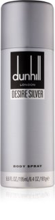 Dunhill Desire Silver spray corporel pour homme 195 ml