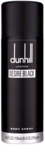 Dunhill Desire Black spray corporel pour homme 195 ml