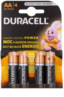 Duracell 1,5 V Alkaline bateria AA 4 unids