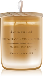 DW Home Lemongrass + Coconut Milk vela perfumada