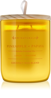 DW Home Pineapple + Papaya vela perfumada 500,94 g