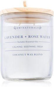 DW Home Lavender + Rose Water Geurkaars 500,94 gr