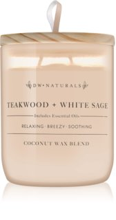 DW Home Teakwood + White Sage bougie parfumée