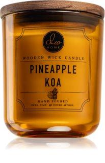 DW Home Pineapple Koa mirisna svijeća s drvenim fitiljem