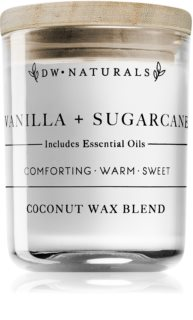 DW Home Vanilla + Sugarcane scented candle