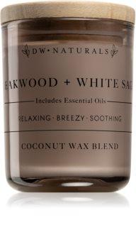 DW Home Teakwood + White Sage doftljus