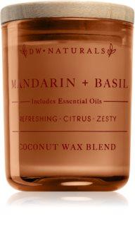DW Home Mandarin + Basil doftljus