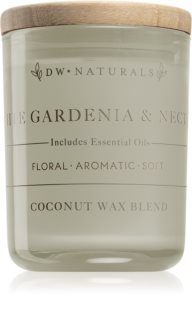 DW Home White Gardenia & Nectar scented candle