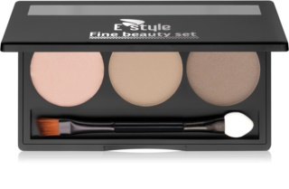 E style Fine Beauty Palette voor Wenkbrauw Make-up