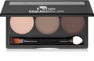 E style Fine Beauty Palette zum schminken der Augenbrauen