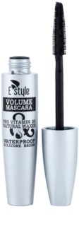 E style Volume Waterproof Mascara Wimperntusche für mehr Volumen und Fülle