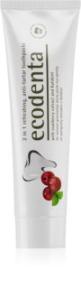 Ecodenta Green Tartar Eliminating pasta de dentes refrescante contra placa com fluór