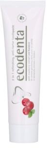 Ecodenta Kalident освежаваща паста за зъби против зъбен камък 2 в 1