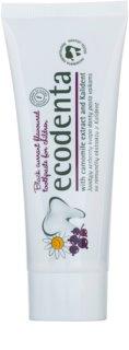Ecodenta Kids pasta do zębów dla dzieci z aromatem czarnej porzeczki i ekstraktu rumianku