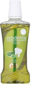 Ecodenta Sage & Aloe Vera & Mint Oil Apă de gură pentru respirație proaspătă și protecția gingiilor
