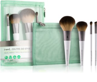 EcoTools On-The-Go Style kit de pinceaux III. (de voyage)
