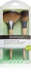 EcoTools Define & Highlight Duo комплект четки  VII. за жени