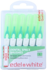 Edel+White Interdental Brushes четки за междузъбно пространство 6 бр.